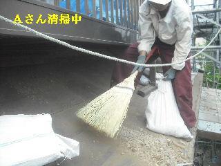 震災被害による屋根工事4日目_f0031037_20375546.jpg
