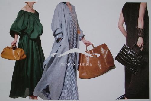 西田信子「Bag&ワンピース」展_a0068339_12415986.jpg