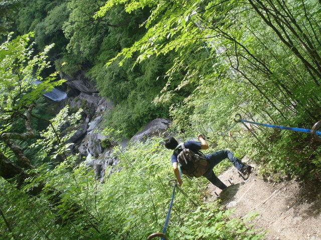 山登りしてきました in尾白川渓谷_b0189682_14515318.jpg