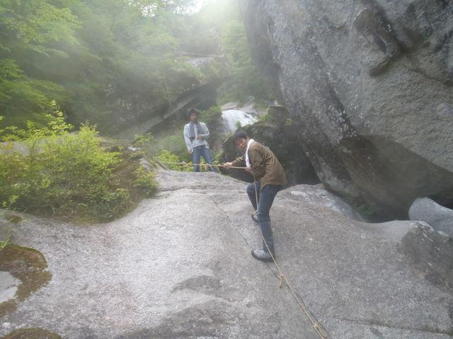 山登りしてきました in尾白川渓谷_b0189682_14533234.jpg