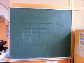 黒板クリーニング_c0215194_19342196.jpg