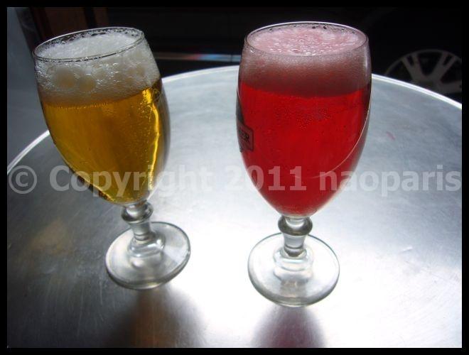 【午後のビール】アペロには・・・ちと早かったけど(PARIS)_a0014299_20272810.jpg