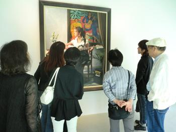 油絵科校外学習  「ホキ美術館 見学ツアー」_b0107314_1034457.jpg