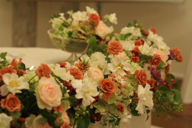 テディベアとウエディングドレス 横浜国際ホテル様へ_a0042928_2144422.jpg