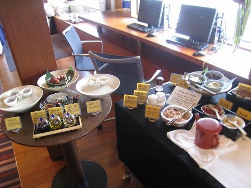 4月 神戸ポートピアホテル ルームサービス朝食とサウナとラウンジ朝食と・・・_a0055835_15374463.jpg
