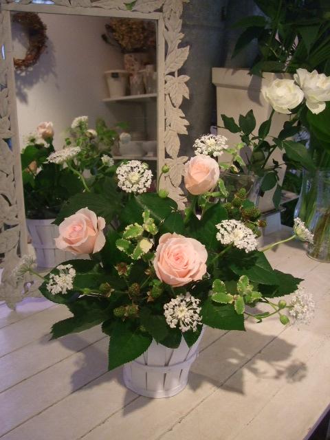 オークリーフ花の教室(バラを使ってレッスン)_f0049672_17504356.jpg
