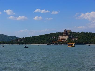 中国出張2010年09月-週末旅行-北京/頤和園(III)-廓如亭、十七孔橋_c0153302_15203374.jpg