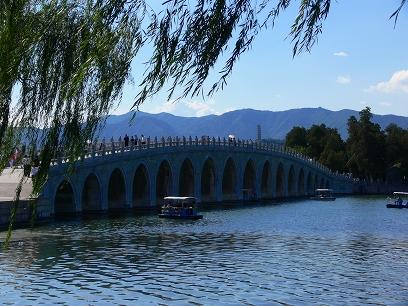 中国出張2010年09月-週末旅行-北京/頤和園(III)-廓如亭、十七孔橋_c0153302_15211244.jpg
