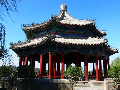 中国出張2010年09月-週末旅行-北京/頤和園(III)-廓如亭、十七孔橋_c0153302_15474257.jpg