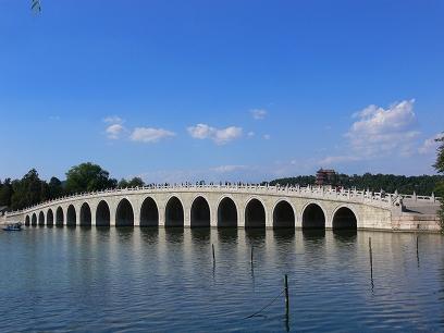 中国出張2010年09月-週末旅行-北京/頤和園(III)-廓如亭、十七孔橋_c0153302_1549446.jpg