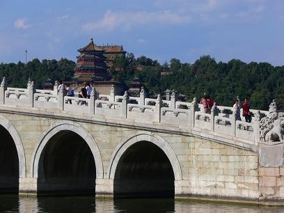 中国出張2010年09月-週末旅行-北京/頤和園(III)-廓如亭、十七孔橋_c0153302_15503888.jpg