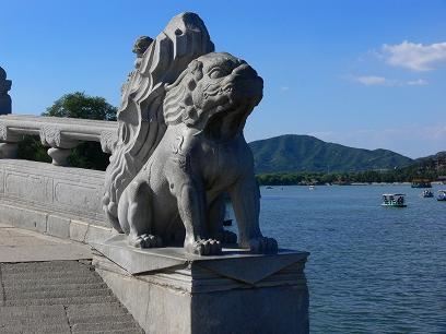 中国出張2010年09月-週末旅行-北京/頤和園(III)-廓如亭、十七孔橋_c0153302_15523995.jpg