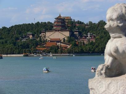 中国出張2010年09月-週末旅行-北京/頤和園(III)-廓如亭、十七孔橋_c0153302_15525057.jpg