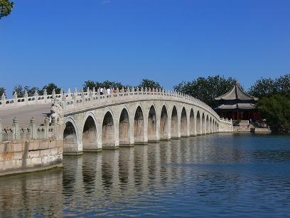 中国出張2010年09月-週末旅行-北京/頤和園(III)-廓如亭、十七孔橋_c0153302_1665223.jpg