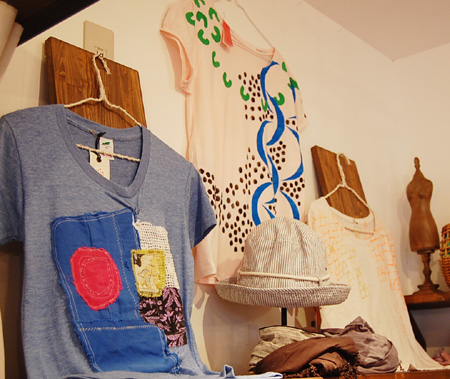 cocoa T-shirts exhibition 2011 本日最終日、ありがとうございました!_a0043747_1954775.jpg