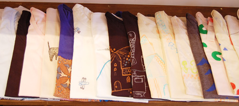 cocoa T-shirts exhibition 2011 本日最終日、ありがとうございました!_a0043747_1963949.jpg