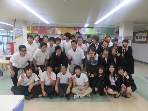 名古屋大学・一橋大学とのレセプション/夕食_e0137649_0263246.jpg