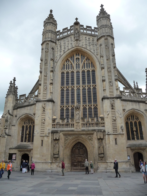8.バース寺院Bath Abbey(巴斯修道院Bath Abbey)_f0056261_13425536.jpg