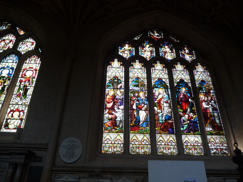 8.バース寺院Bath Abbey(巴斯修道院Bath Abbey)_f0056261_13483758.jpg
