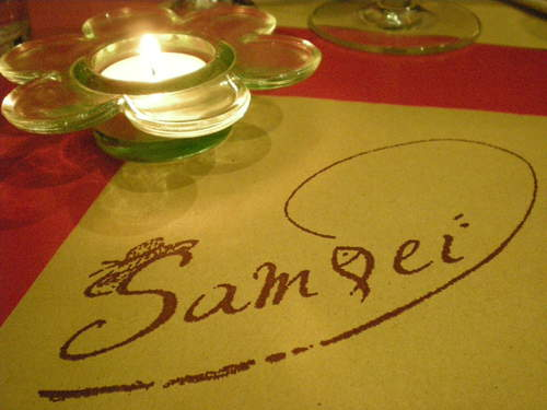 Trattoria  Sampei   で満足夕食!!_c0179785_182674.jpg