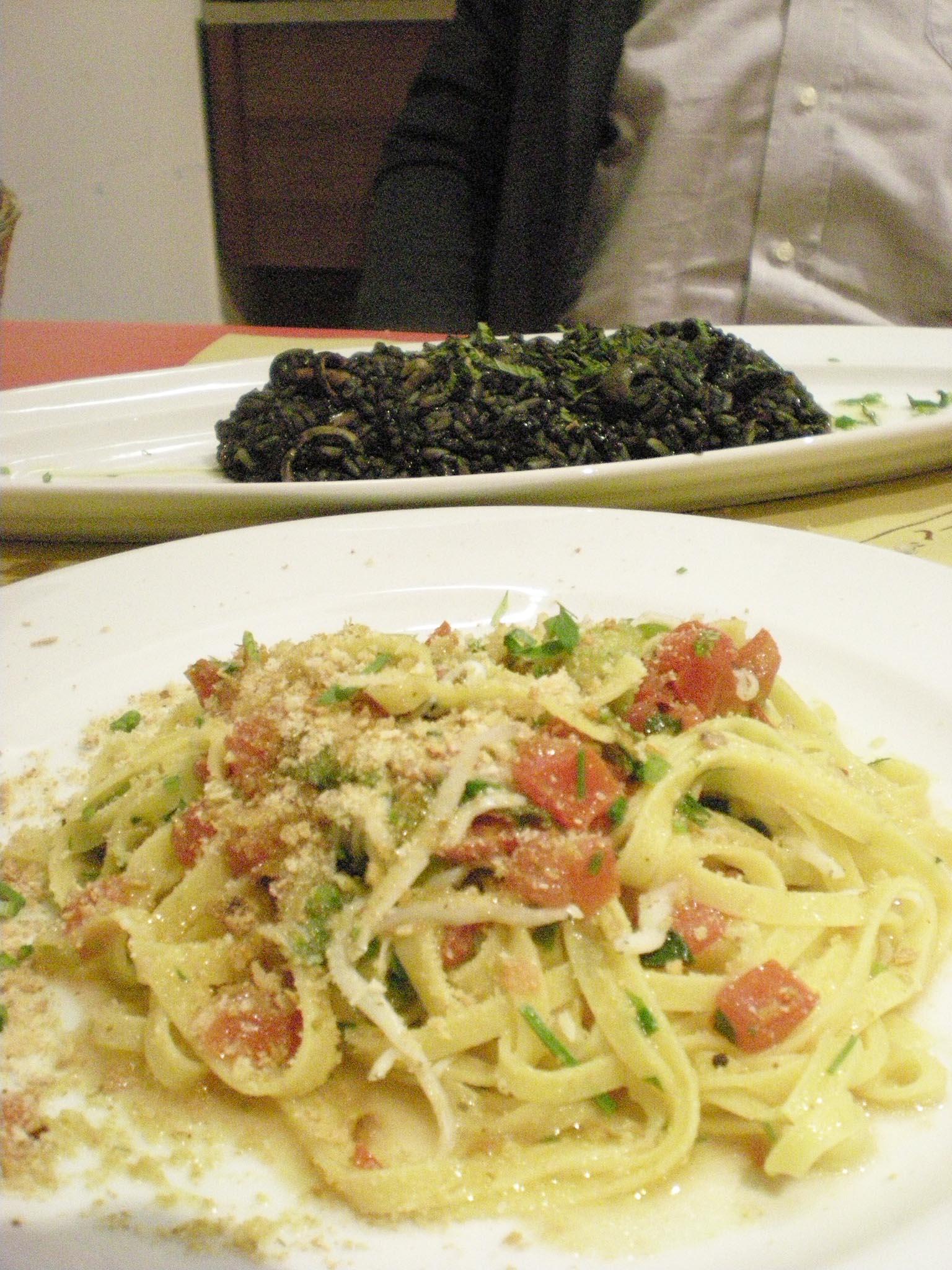 Trattoria  Sampei   で満足夕食!!_c0179785_183037.jpg
