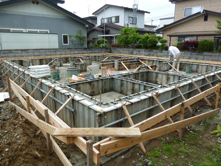 S様邸「広面川崎の家」 施工中です。_f0150893_16125855.jpg