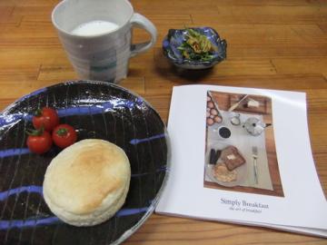 6月13日  simple  breakfast_a0204408_133325.jpg