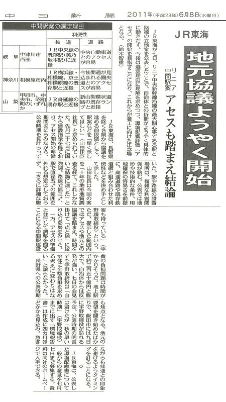 リニア新幹線中津川中間駅ちこり村のすぐ近くに!_d0063218_12345093.jpg