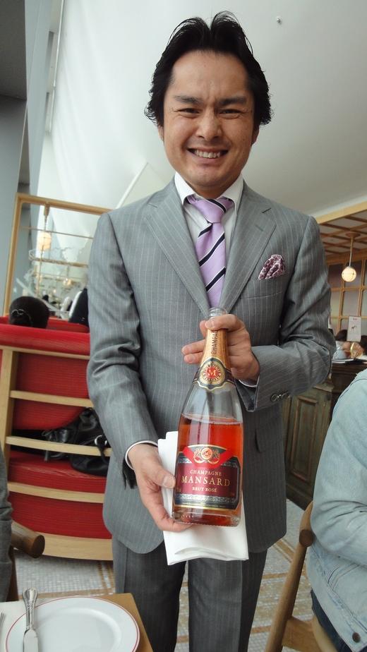 シャンパンビジネスランチ@ブノワ大阪_f0215324_10474549.jpg