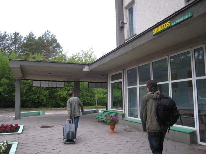 リトアニアの旅9: 最終回 狭いリトアニアそんなに急いでどこへ行く _c0129545_1273894.jpg