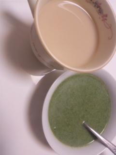 ほうれん草スープ作りました_e0114246_15354351.jpg