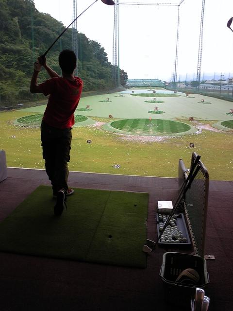 2011年6月13日 ゴルフ初体験からの_a0202976_1463635.jpg