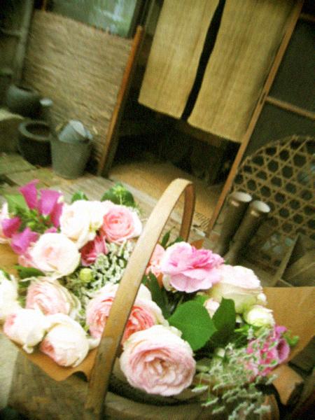 6月の庭仕事と花束のお裾分け。_d0077603_10302859.jpg