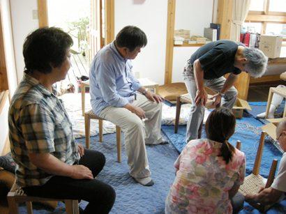 スツール座編み講座in那須 開催しました。_f0227395_17103217.jpg