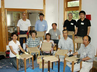 スツール座編み講座in那須 開催しました。_f0227395_17121075.jpg