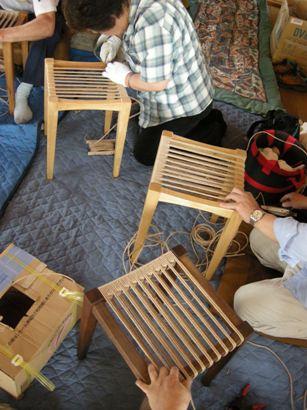 スツール座編み講座in那須 開催しました。_f0227395_172848.jpg