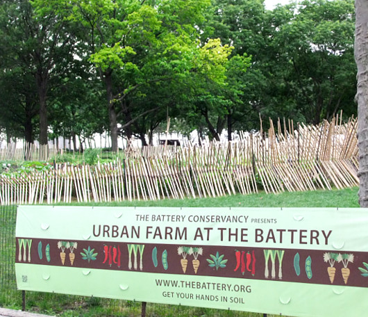 ニューヨークの公園にミニ農園登場!? Urban Farm at Battery Park_b0007805_19372428.jpg