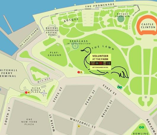 ニューヨークの公園にミニ農園登場!? Urban Farm at Battery Park_b0007805_19383983.jpg