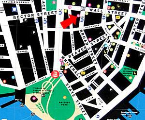 ニューヨーク、ウォールストリート周辺の歴史のある街並み_b0007805_2304129.jpg