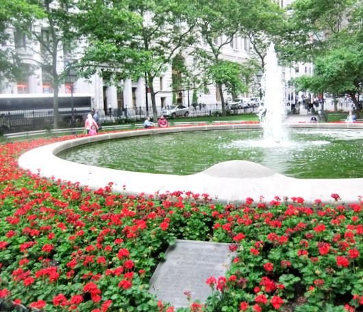 ニューヨーク、ウォールストリート周辺の歴史のある街並み_b0007805_23114070.jpg
