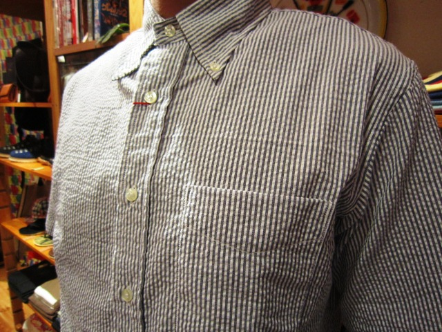 "雨の日の。。。 & ""SERO SEER SUCKER B/D SHIRTS\"" 入荷!_f0191324_9342469.jpg"