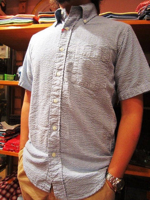"雨の日の。。。 & ""SERO SEER SUCKER B/D SHIRTS\"" 入荷!_f0191324_935030.jpg"