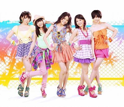 『9nine』の新曲「夏 wanna say love U」の着うた(R)が、配信!!_e0025035_21315277.jpg