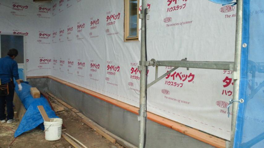 Y様邸「峰吉川の家」 施工中です。_f0150893_1646555.jpg