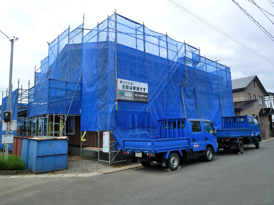 K様邸「船場町の家」 施工中です。_f0150893_171304.jpg