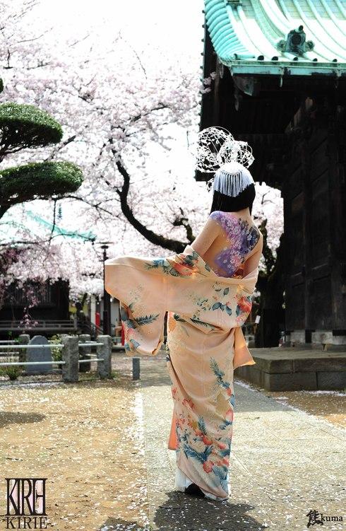 ● 桜の下_f0165193_17132748.jpg
