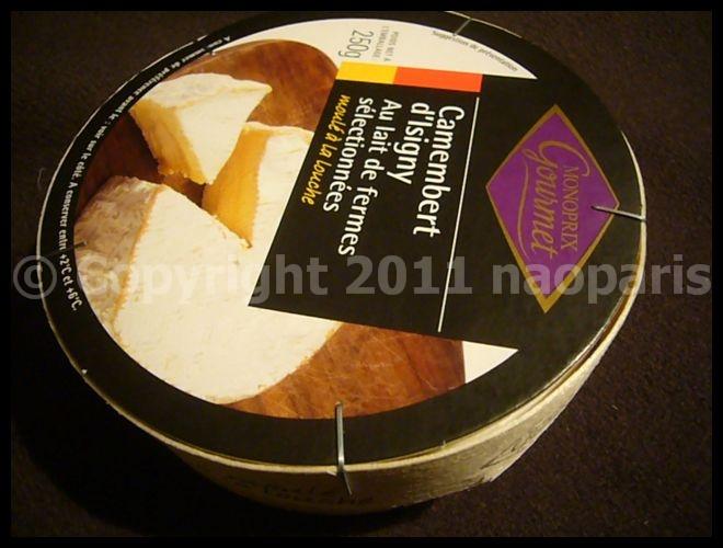 【チーズ】スーパーのチーズたち(PARIS)_a0014299_1834516.jpg