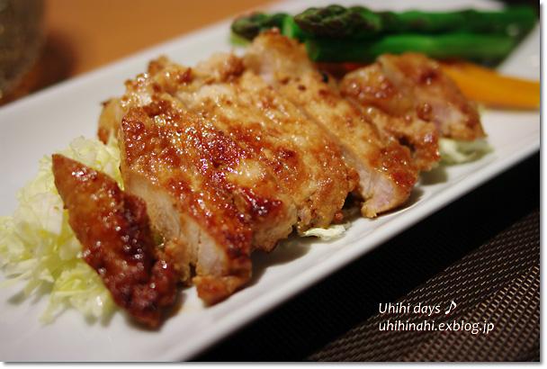 豚肉の味噌漬け_f0179404_20483988.jpg