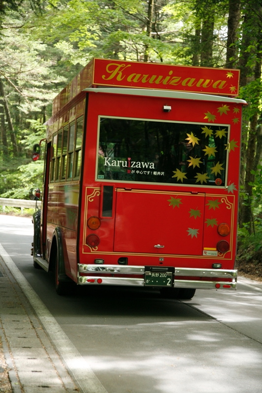 峠行きの赤いバス_f0091207_21154265.jpg