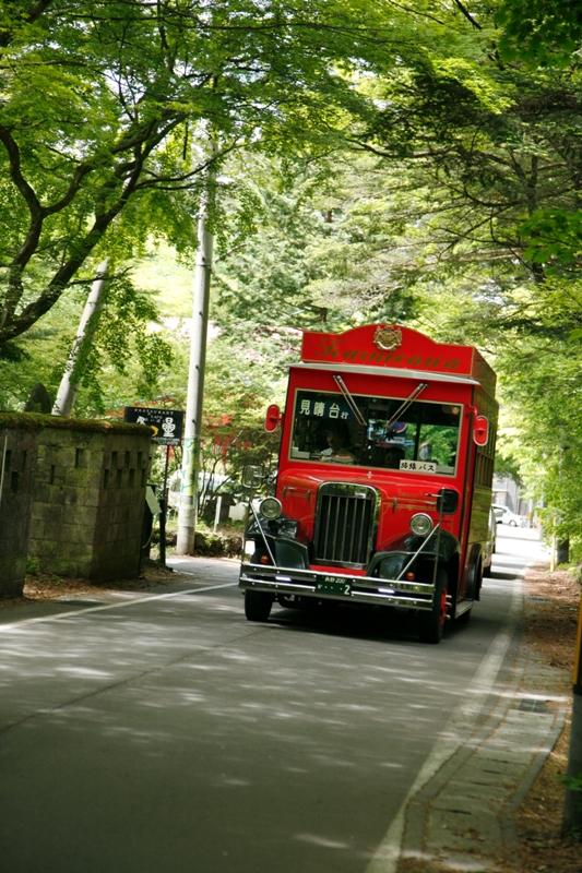 峠行きの赤いバス_f0091207_21155978.jpg
